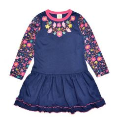 Трикотажна сукня для дівчинки, 9053