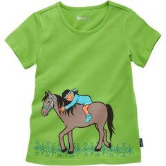 Трикотажна футболка для дівчинки, 9205