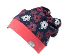Трикотажная шапочка для девочки, 9650