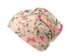 Трикотажная шапочка для девочки, 9659