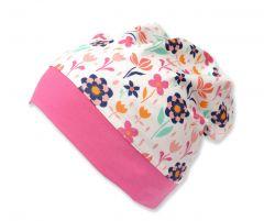 Трикотажная шапочка для девочки, 9666