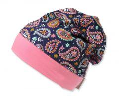 Трикотажная шапочка для девочки, 9674