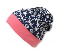 Трикотажная шапочка для девочки, 9675