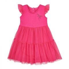 Трикотажне плаття з фатином для дівчинки, 15КЛ003