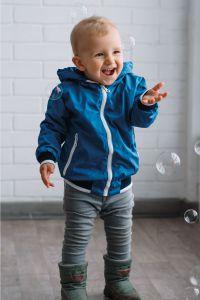 """Вітрівка з трикотажною підкладкою для дитини """"Вінді"""" (синя), DC Kids"""