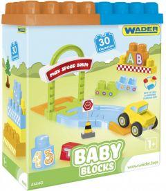 """Конструктор Baby Blocks """"Мої перші кубики"""" (30 ел.), Wader 41440"""