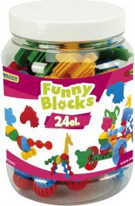 Конструктор Funny Blocks (24 ел.), Wader 41940