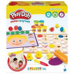 """Ігровий набір """"Букви і мови"""" Ліпи і вивчай Play-Doh E3581 (російською)"""