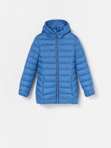 Демісезонна подовжена куртка для дівчинки