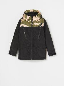 Демисезонная куртка с флисовой подкладкой для мальчика