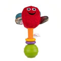 """М'яка іграшка-брязкальце """"Дельфін Доріан"""", Balibazoo 80251"""