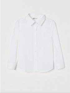 Коттоновая рубашка для девочки