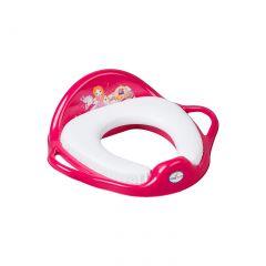 """Туалетне сидіння м'яке """"Little princess"""" рожеве, LP-020-123 Tega baby"""