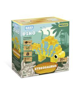 """Дитячий конструктор """"Baby Blocks '' дино-стегозавр 14ел., 41495"""