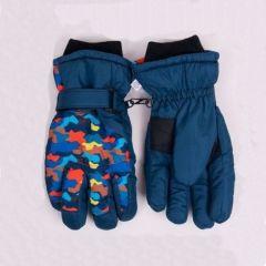 Теплі рукавиці (темно-сині) YoClub RN-128