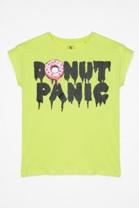 Трикотажна футболка для дівчинки, Reporter 203-0440G-09-310-1